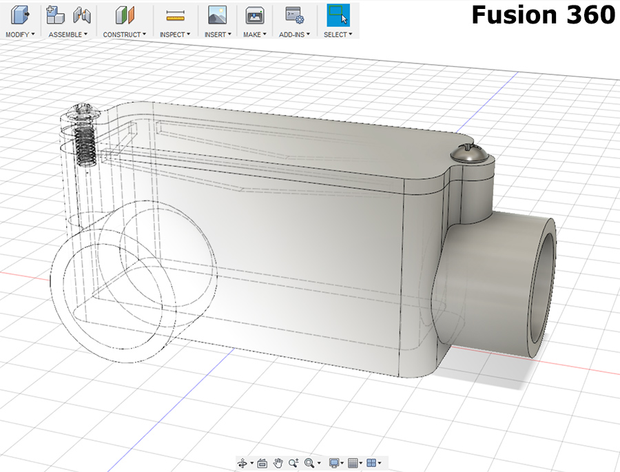 First model with Fusion 360 – DarrenLusty co uk